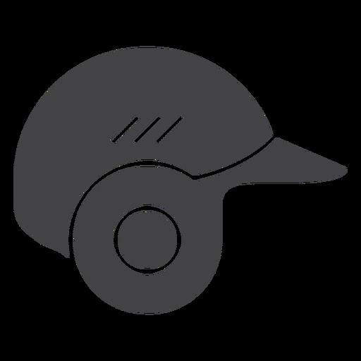 Iconos de casco de béisbol icono plano casco Transparent PNG