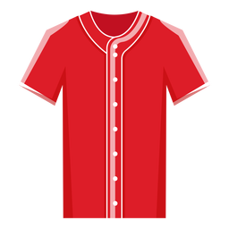 Baseball jersey icon baseball icon