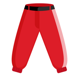 Icono de pantalones de béisbol