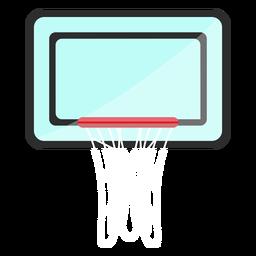 Ícone de encosto de basquete