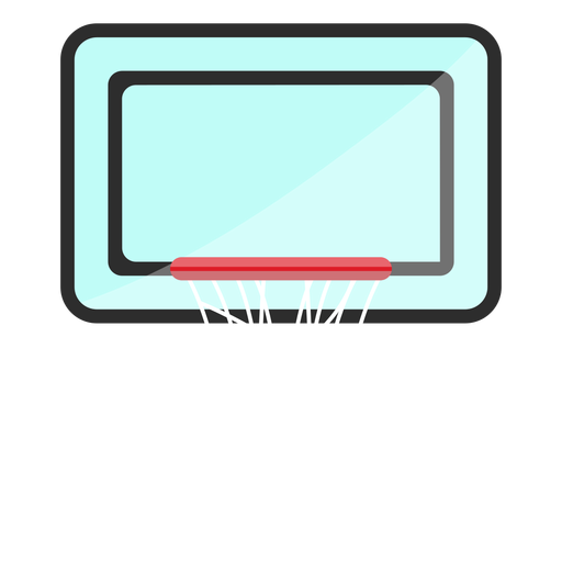 Basketball backboard icon Transparent PNG
