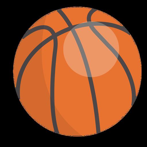 Ícone de bola de basquete Transparent PNG