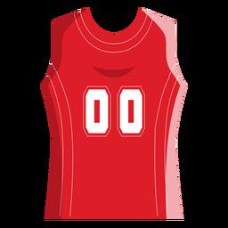 Ícone de camisa de basquete