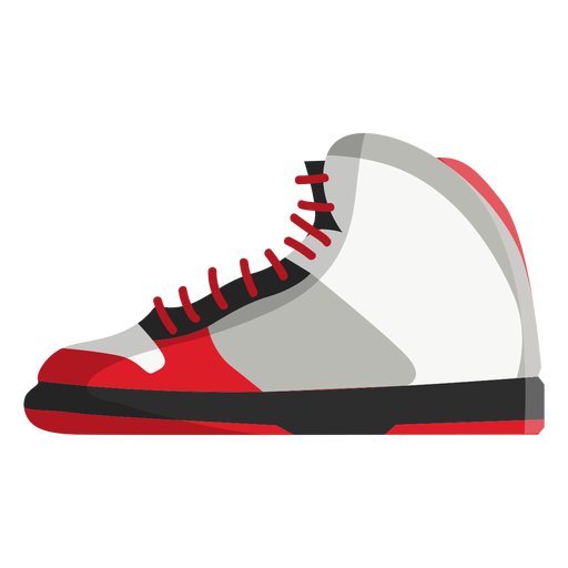 Icono de zapato de baloncesto Transparent PNG