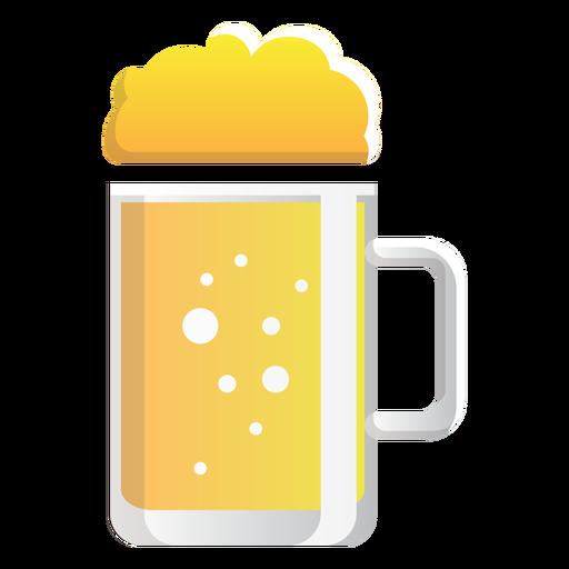 Icono de vaso jarra de cerveza Transparent PNG