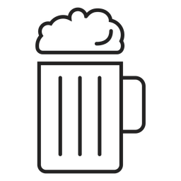 Beer mug icon drink icon