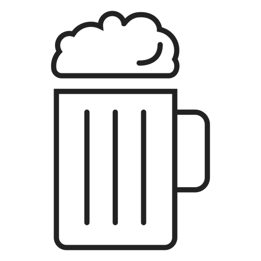 Ícone de caneca de cerveja ícone de bebida Transparent PNG
