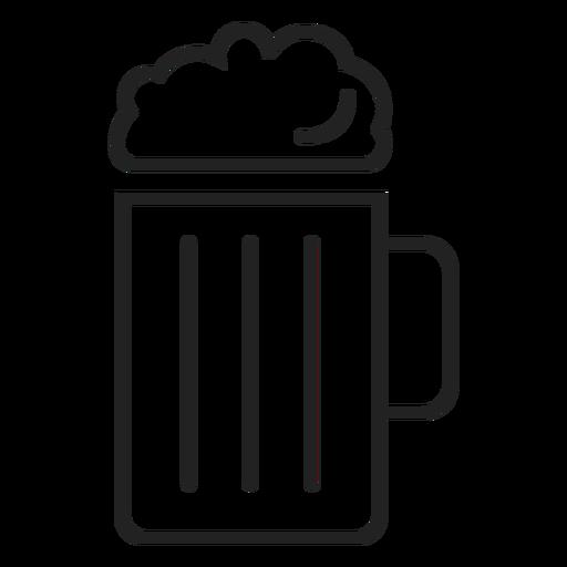 Icono de jarra de cerveza icono de bebida Transparent PNG