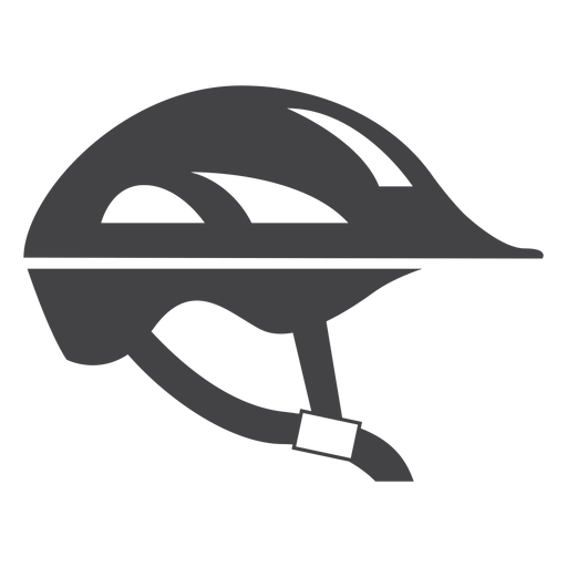 Bicycle helmet flat icon Transparent PNG