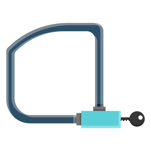 Bicycle lock icon Transparent PNG