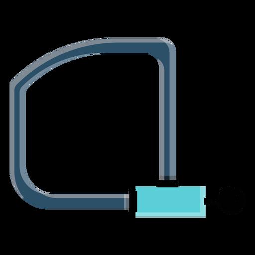Icono de bloqueo de bicicleta Transparent PNG