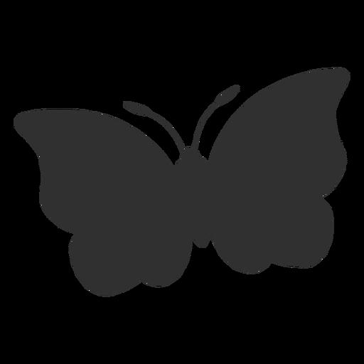 Großes Schmetterlingsfliegenschattenbild Transparent PNG