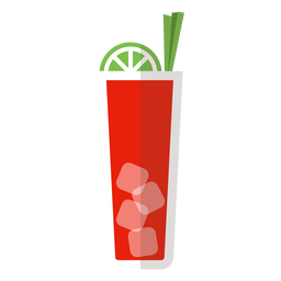 Icono de cóctel Bloody Mary