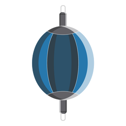 Boxing double end bag icon