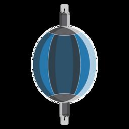 Icono de bolsa de doble extremo de boxeo