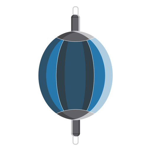 Ícone de saco de final de boxe duplo Transparent PNG