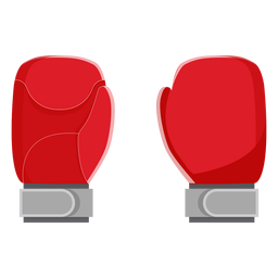 Ícone de luvas de boxe elementos de boxe