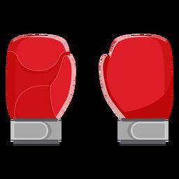 Icono de guantes de boxeo elementos de boxeo