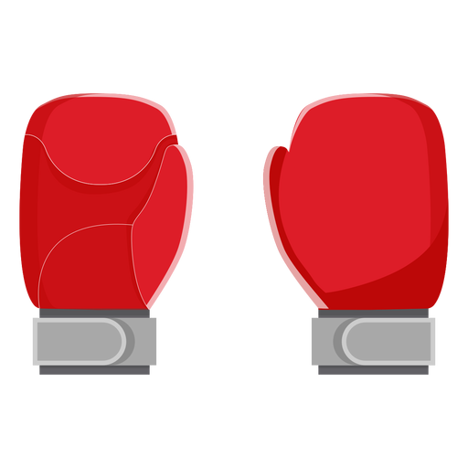 Icono de guantes de boxeo elementos de boxeo Transparent PNG