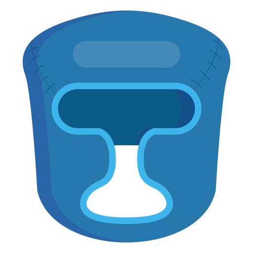 Boxing helmet icon Transparent PNG