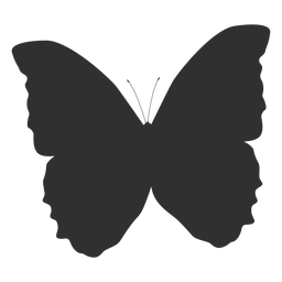 Mariposa mariposa silueta