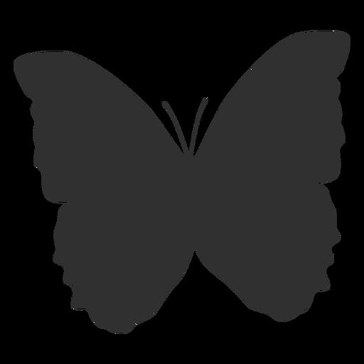 Mariposa mariposa silueta Transparent PNG