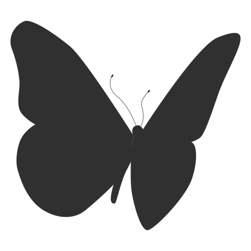 Butterfly insect silhouette Transparent PNG
