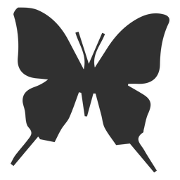 Butterfly silhouette icon butterfly silhouette