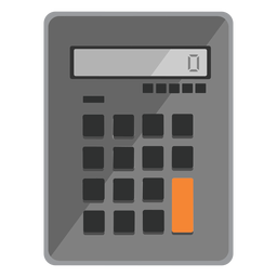 Calculator icon travel icons
