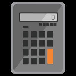 Iconos de viaje de icono de calculadora