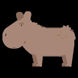 Ilustración capibara