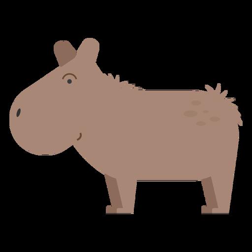 Capibara-Abbildung Transparent PNG