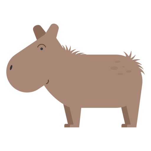Capibara illustration Transparent PNG