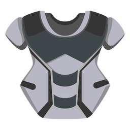 Catcher chest protector icon