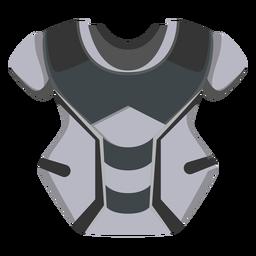 Icono de protector de pecho de catcher