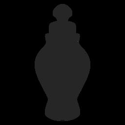 Ícone plana jarra de cerâmica spice