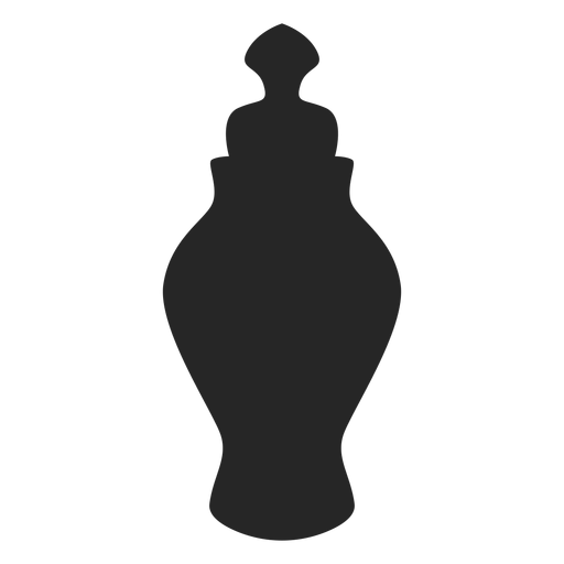 Ceramic spice jar flat icon Transparent PNG
