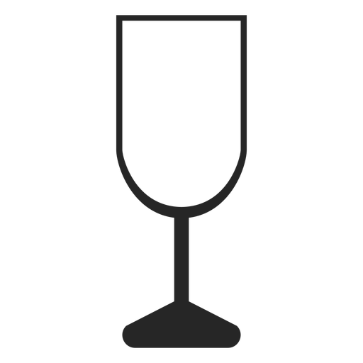 Champagne glass flat icon restaurant icons Transparent PNG