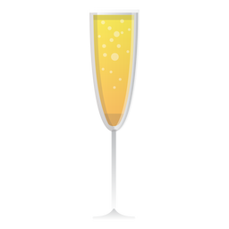 Champagner-Glas-Symbol