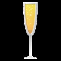 Icono de copa de champán