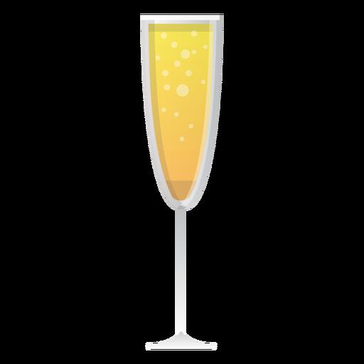 Icono de copa de champán Transparent PNG