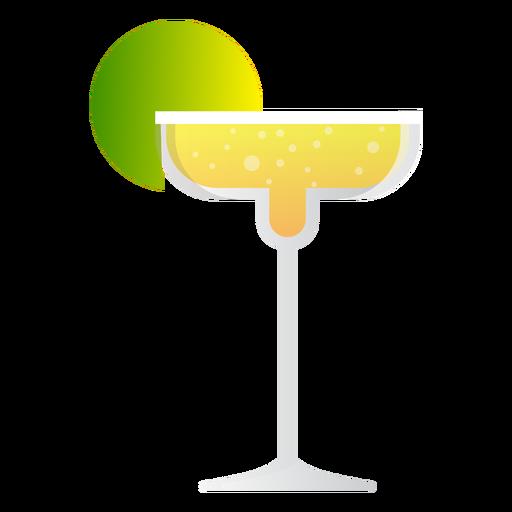 Icono de c?ctel margarita champagne