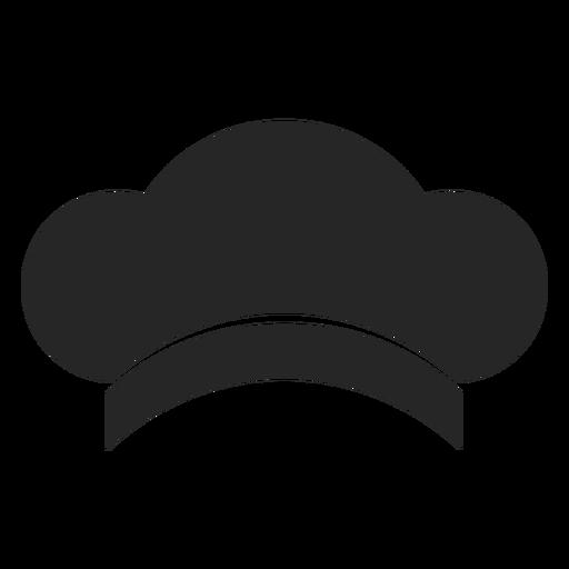 Elemento plana de chapéu de chef Transparent PNG