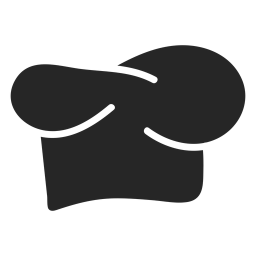 Chef hat flat icon Transparent PNG