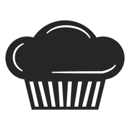 Chef toque flat icon