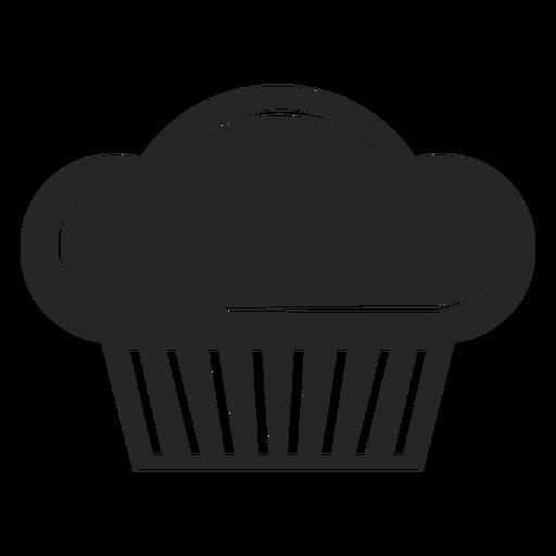 Ícono plano de chef toque Transparent PNG