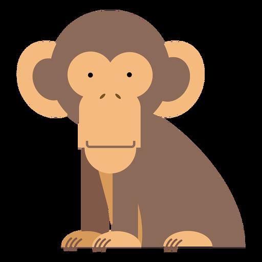 Chimpanzee monkey illustration Transparent PNG