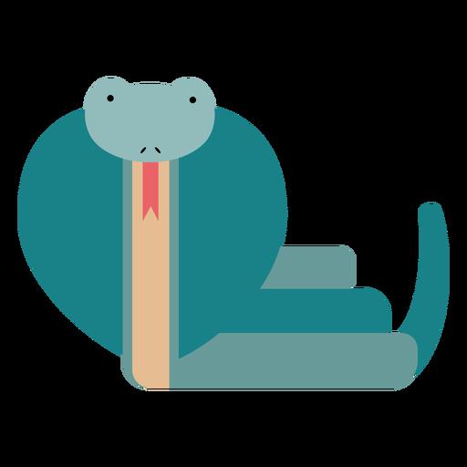 Ilustración de serpiente cobra Transparent PNG