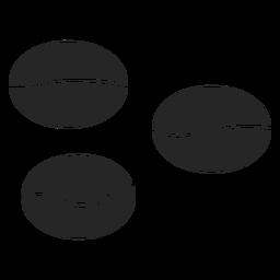 Kaffeebohnen-Symbol