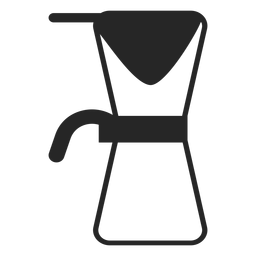 Coffee maker stroke icon